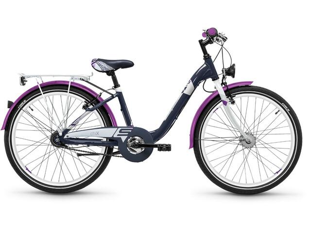 s'cool chiX 24 7-S alloy Darkgrey/Violett Matt